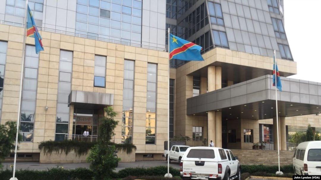L'immeuble du gouvernement congolais àKinshasa, RDC, 23 juin 2018. (VOA/ John Lyndon)