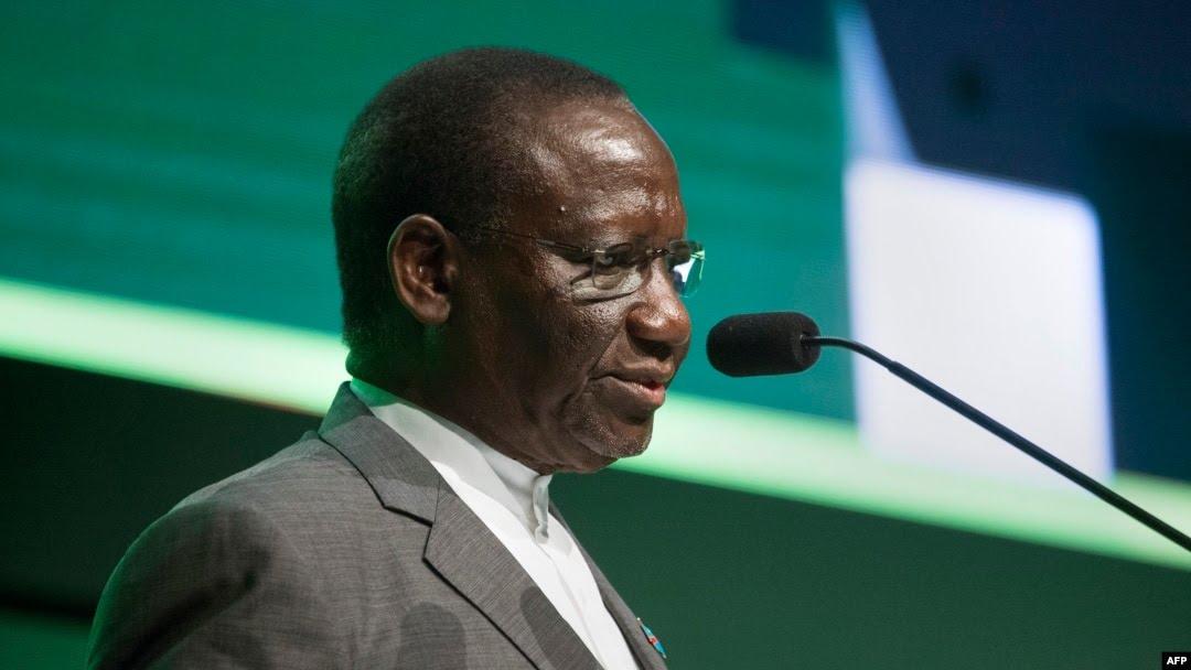 Sylvestre Ilunga Ilunkamba, Premier ministre de la RDC, au Cap, en Afrique du Sud, le 3 février 2020.
