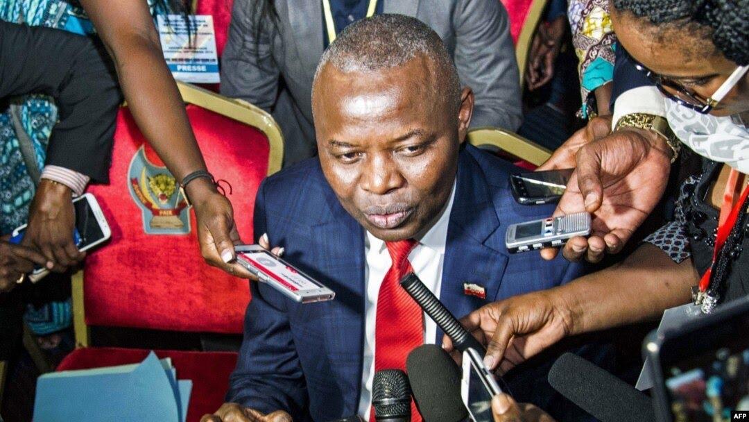 Vital Kamerhe, allié et ancien directeur de cabinet du président Félix Tshisekedi, Kinshasa, 1er septembre 2016. (Photo JUNIOR D.KANNAH / AFP)