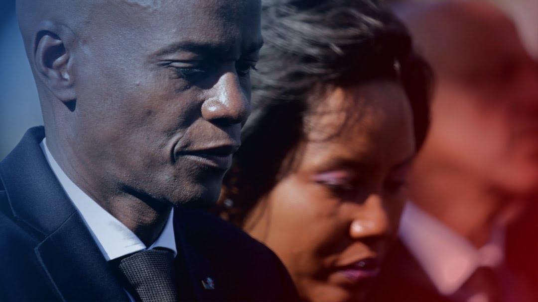 海地共和国总统佛内尔∙莫伊兹及夫人。